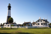 Tybee Island Lighthouse Outside Savannah, Georgia