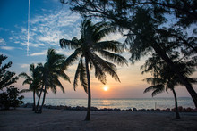 Beach In Fort Zachary Taylor Historic State Park, Key West, Florida