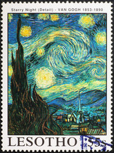 Detail From Starry Night By Va...