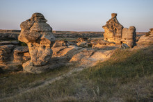 Writing On Stone Provincial Park Dawn