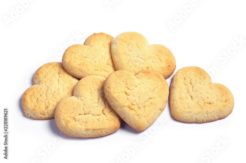 Fotomural Heap of cookies in shape of heart