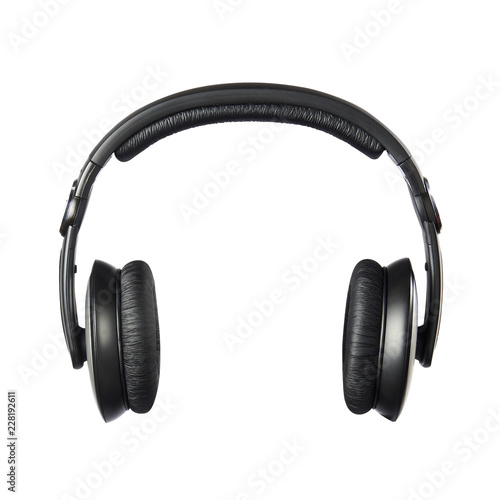 headphone isolated on white background Fototapeta