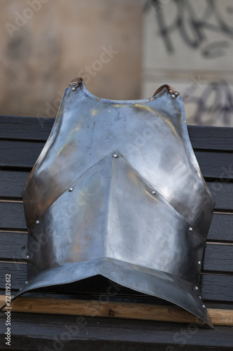 Photo Medieval battle chest plate armor