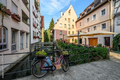 Fotografie, Obraz  Città di Ulm, Ulma, Germania