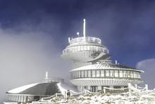 Śnieżka Góra W Karkonoszach W Zimowej Szacie