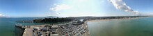 Panorama Of Weymouth Harbour And Beach From The Tower