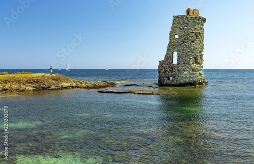Fotografía  Tour génoise de Santa-Maria-della-Chiapella, Corse