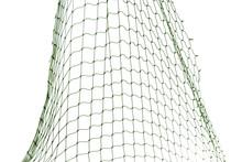 Fishing Net On White Backgroun...