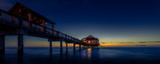 Clearwater Beach Pier Panorama