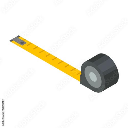 Stampa su Tela Measure tape icon