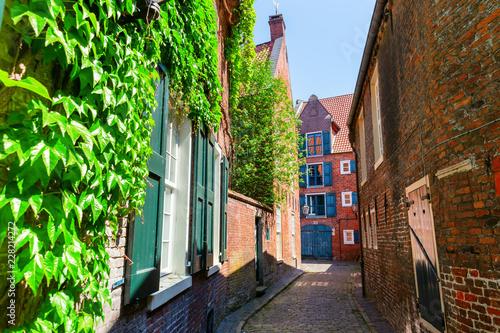 Foto  alley in Leer, Ostfriesland, Germany