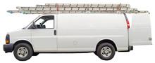 Maintenance Van With Open Rear...