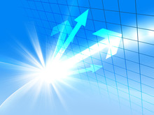 ビジネス成長 ビジネス 矢印 成長 経済 貿易 世界地図