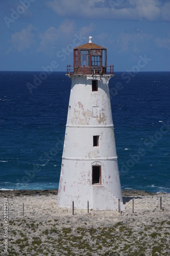 beaches water rocks lighthouse palm trees islands ropes