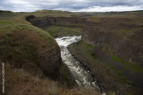 Foto op Plexiglas Grijze traf. valley of palouse