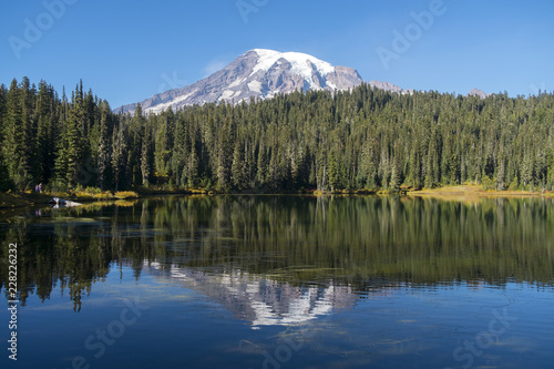 Poster Lac / Etang lake in the mountains