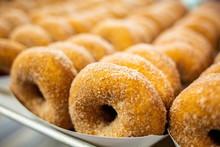 Sweet Cider Donuts Freshly Bak...