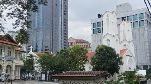 St. John's Cathedral Kuala Lumpur Canvas Print