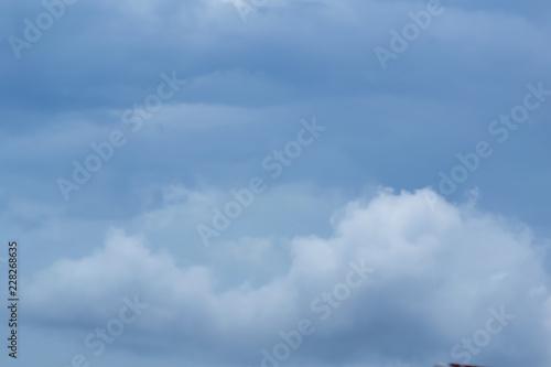 Fototapeta Clouds sky background in the air. obraz na płótnie