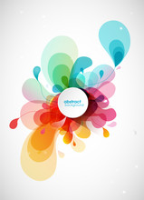 Abstract Vector Illustration W...