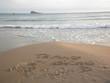 te amo,amor,te amo bicho,playa,arena,isla,mar,romanticismo,mar,olas,paisaje,belleza