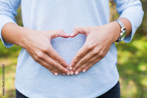 Obraz First trimester of pregnancy - fototapety do salonu