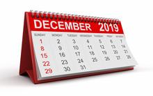 Calendar -  December 2019 (cli...