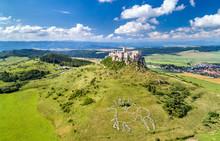 Aerial View Of Spissky Hrad Or...