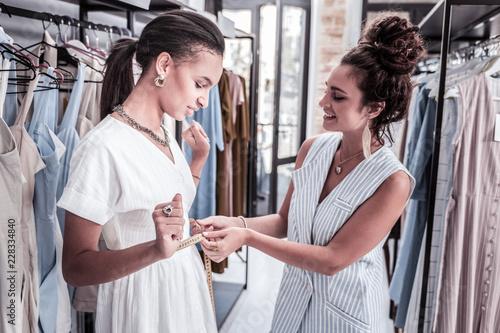 Fotografie, Obraz  Visitor of boutique