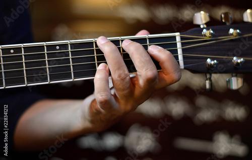 Fotografie, Obraz  chitarrista