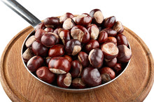 Many Chestnuts In Frying Pan O...