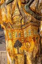Detail Of Woodcarving