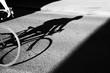 canvas print picture - Rennradfahrer