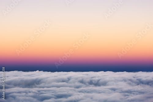 Tuinposter Hemel Sky at sunset