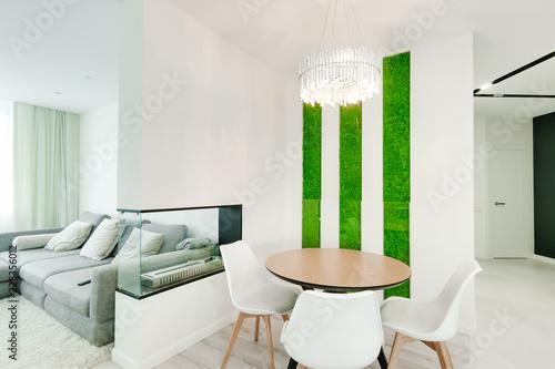 Obraz na płótnie Russia, Novosibirsk - August 16, 2018: decorative moss for interior decoration