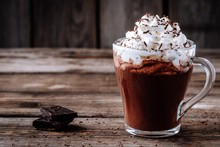 Hot Chocolate Drink With Whipp...