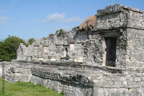 Fotografie, Obraz  Tulum Archaeological Ruins Tulum Mexico