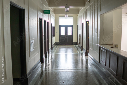 Fotografie, Tablou  empty corridor