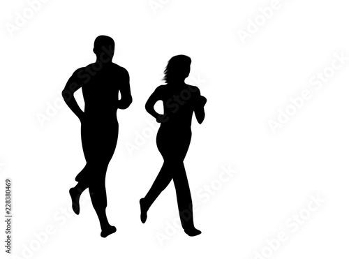 Valokuva  Jogging