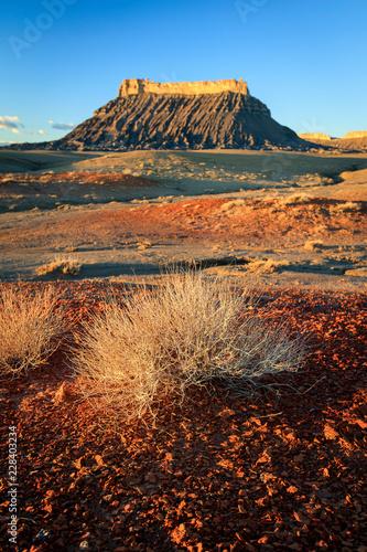 Geologic oddities in the Utah Desert, USA. Canvas-taulu