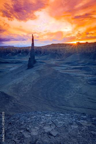 Valokuva Geologic oddities in the Utah Desert, USA.