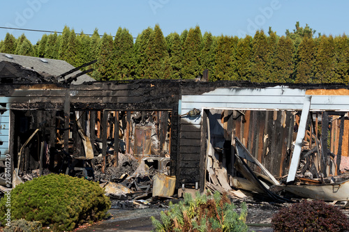 Springfield Oregon Arson by Gunman Before Taking His Own Life Wallpaper Mural