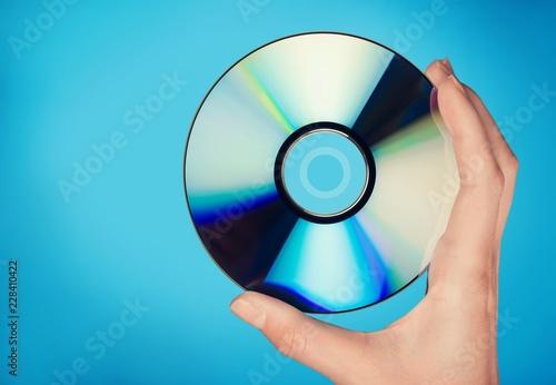 Cuadros en Lienzo  CD / DVD Disc
