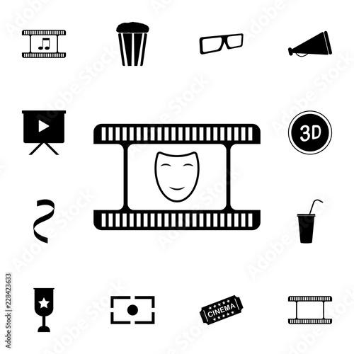 Fotografie, Tablou  comedy icon