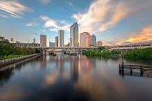 Tampa Bay Riverwalk Skyline