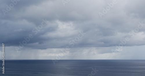 Poster Mer / Ocean Ocean and storm cloud