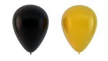Black And Yellow Balloons