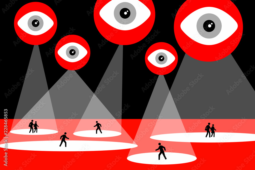 Fototapety, obrazy: big brother watching you