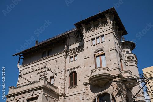 Palermo, Italy - September 11, 2018 : View of Villino Florio