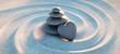 canvas print picture - Turm aus Kieselsteinen mit Kiesel in Herzform